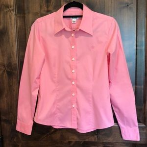 Lilly Pulitzer Tailored Pink Blouse
